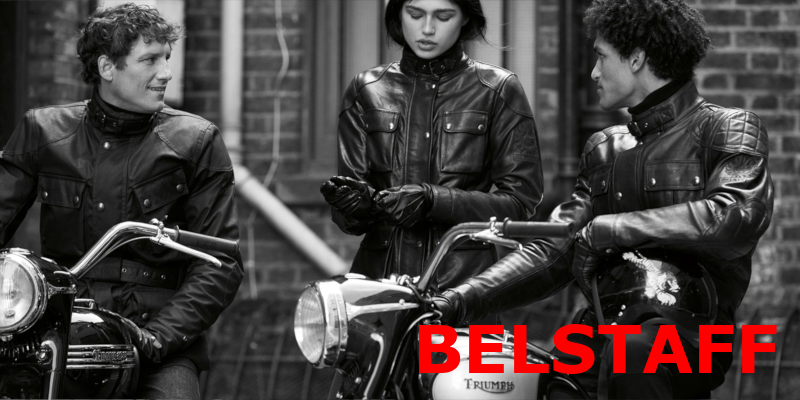 Belstaff trousers and Jackets in Leather and Waxcotton for motorcycling at Restless shop in Munich