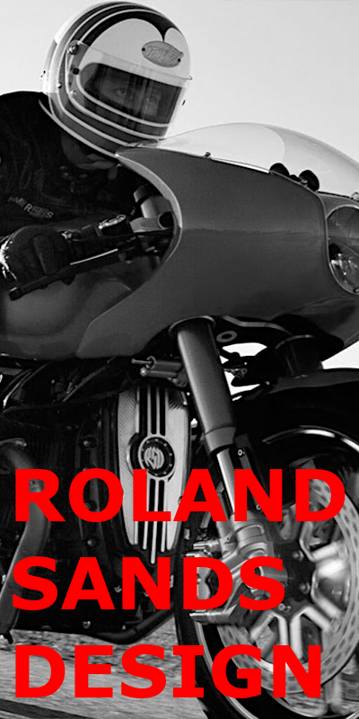 Roland Sands Design Leatherjackets and Gloves for motorcycling at Restless shop in Munich