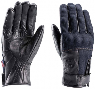 BLAUER COMBO GLOVES DENIM