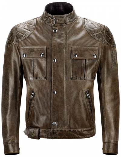 BELSTAFF BROOKLANDS LEATHER BLACKBROWN