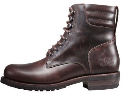 "ROKKER BOOT CLASSIC RACER 8"" BROWN"
