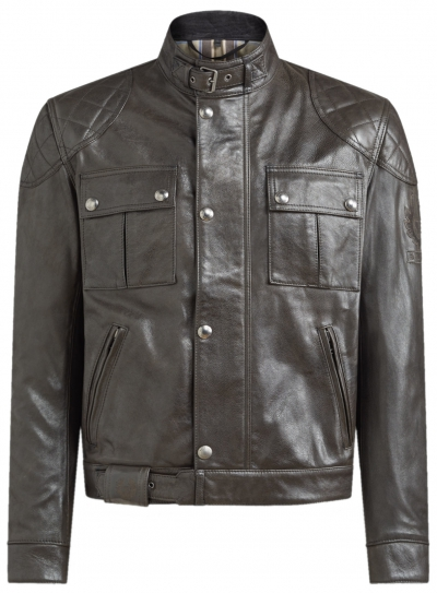 BELSTAFF BROOKLANDS LEATHER BLACK