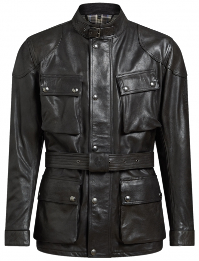 BELSTAFF TRAILMASTER PRO LEATHER BLACK
