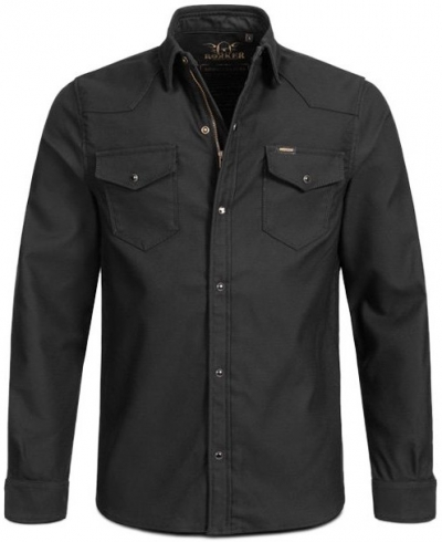 ROKKER BLACK JACK RIDER SHIRT RV