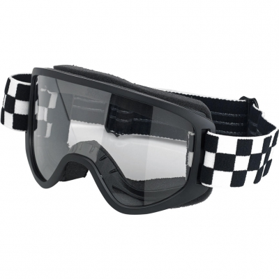 Biltwell Moto 2.0 - Checkers Black