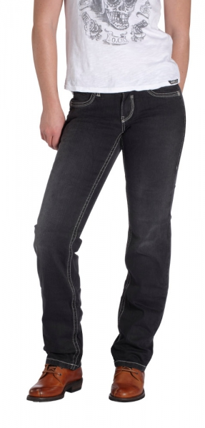 ROKKER JEANS BLACK LADY