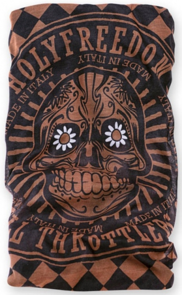 HOLY FREEDOM TUBE GOLDEN SKULL AMERICA DRY-KEEPER