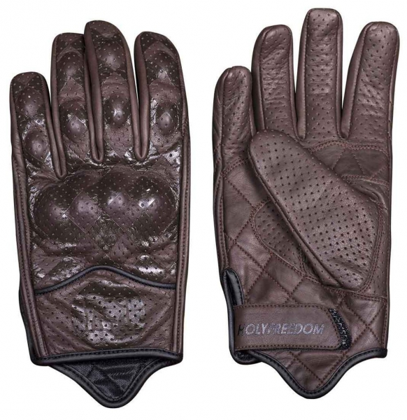 HOLY FREEDOM MOTORCYCLE GLOVE BULLITT BROWN